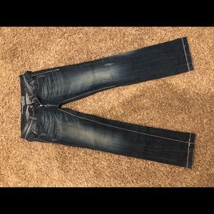 Limited edition Express Rerock straight jeans sz 8